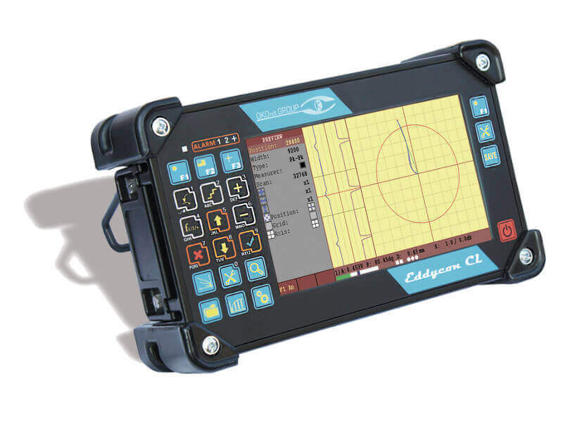 Portable eddy current flaw detector-tester Eddycon CL