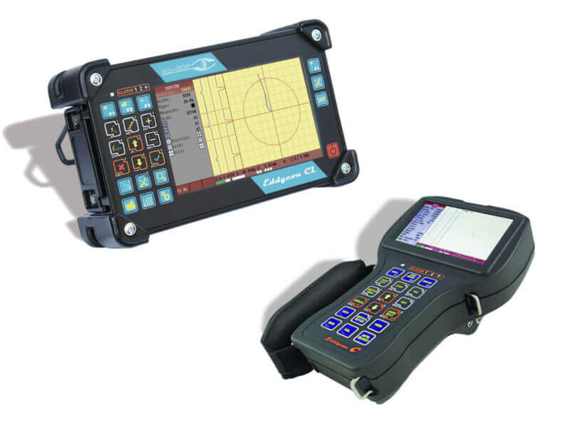 Portable eddy current flaw detector-tester Eddycon C & CL