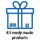 39 ready-made products